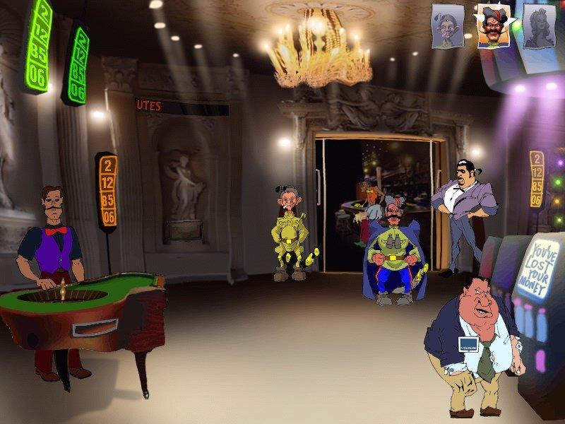 петька 3 прохождение казино